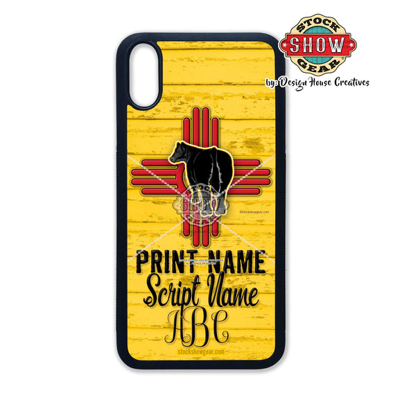New Mexico Zia Cattle Phone Case