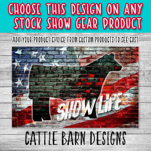 USA Brick Show Steer Show Life Design