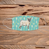 Pygmy Goat Design Face Masks