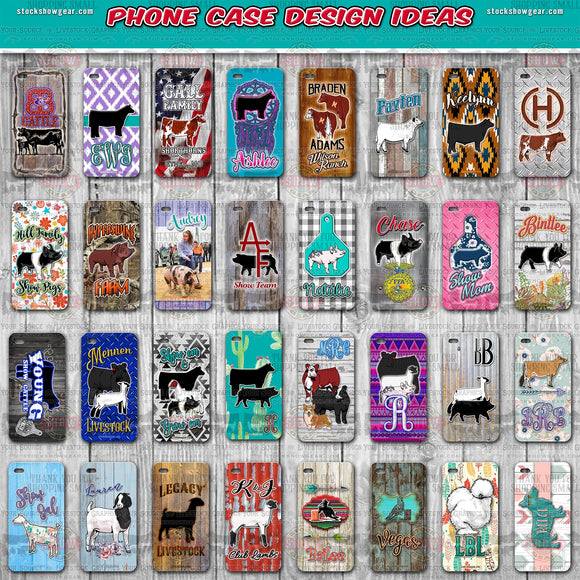 Phone Case Designing Spring Board! Information Only