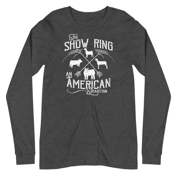 American Show Ring Tradition Long Sleeve Tee