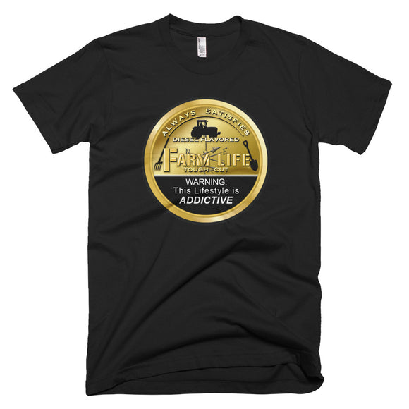Farm Life Bronze Can Tractor T-Shirt