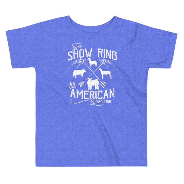 American Show Ring Tradition Toddler Short Sleeve Tee