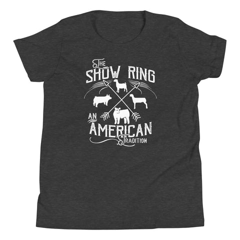 American Show Ring Tradition Youth Short Sleeve T-Shirt