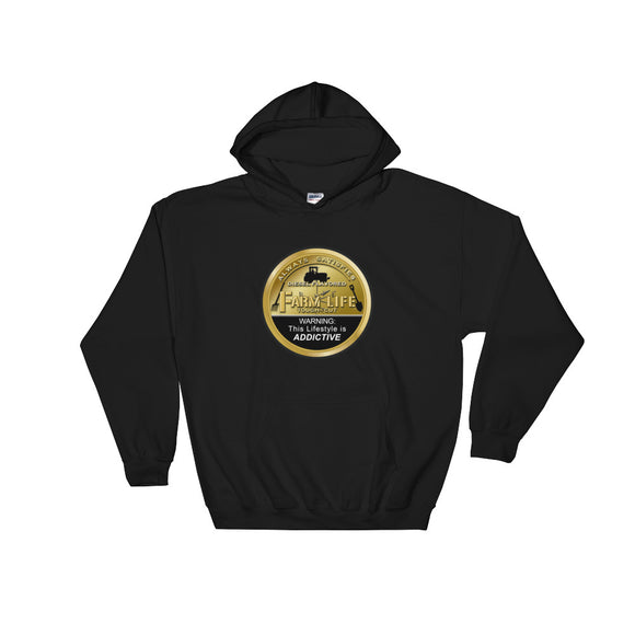 Farm Life Bronze Can Tractor Hooded Sweatshirt