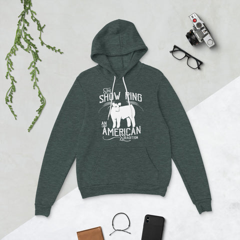 American Show Ring Tradition Hoodie - Steer
