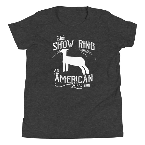 American Show Ring Tradition Youth Short Sleeve T-Shirt-Lamb