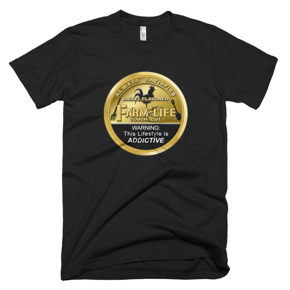 Farm Life Bronze Can Rooster T-Shirt