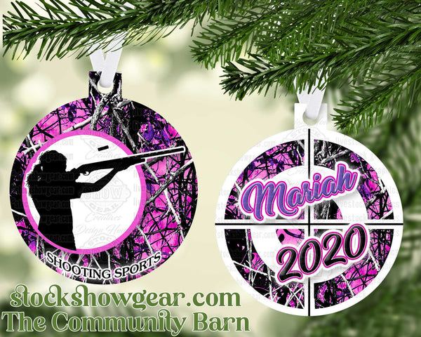 Shooting Sports 4-H Ornament Male-Female