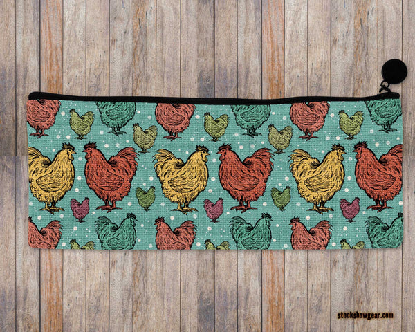 Just a Girl Who Loves Chickens-Pencil-Cosmetic Bags