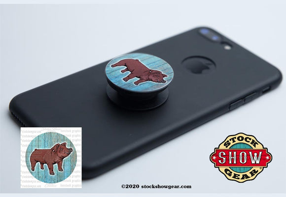 Duroc Pop Your Livestock Phone Holders