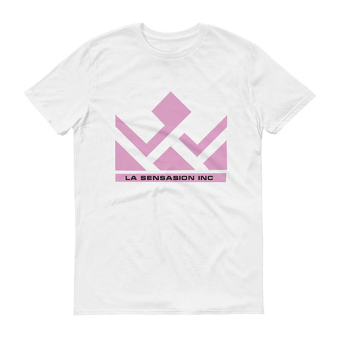 Pink LSI Short sleeve t-shirt