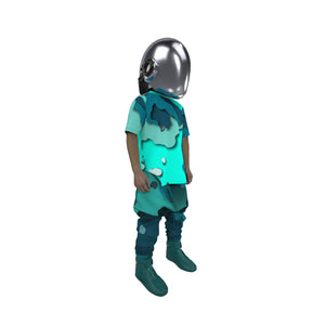Load image into Gallery viewer, 3D CAMØ _PANDØRA_DK TEAL