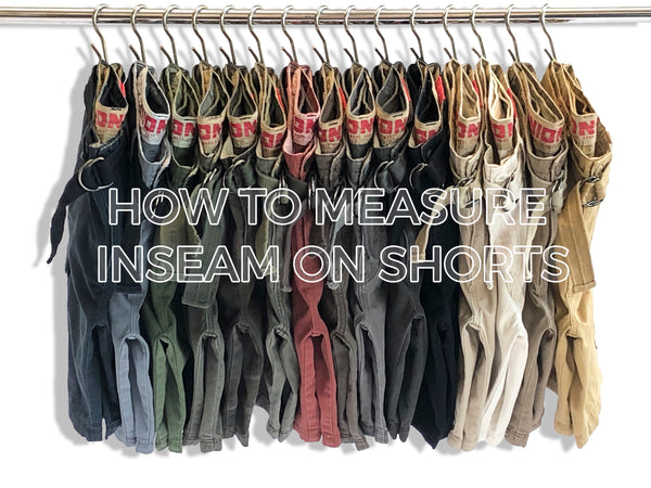 how to measure inseam on shorts