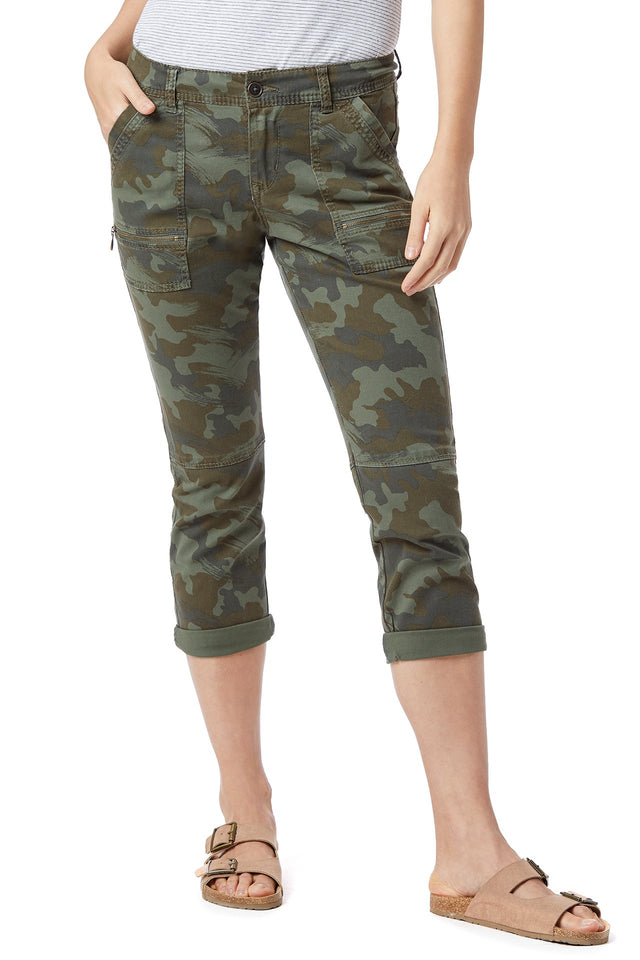Norma Camo Pant (Reg and Plus Size)