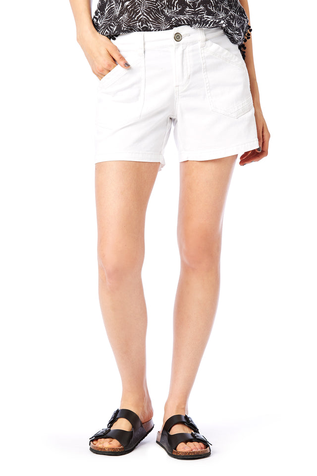 "Alix 5"" White Shorts - Women's Shorts"