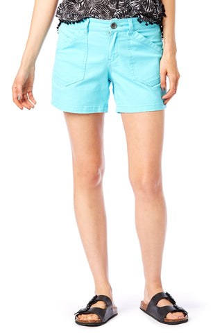 "Alix 5"" Blue Shorts - Women's Shorts"