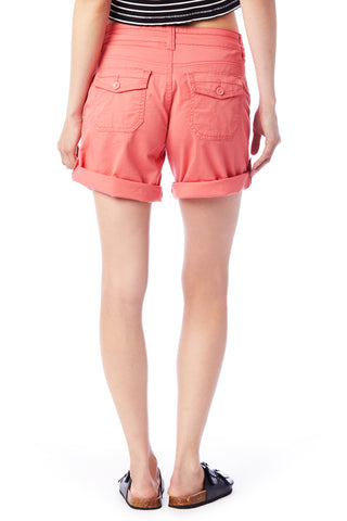 Pink Convertible Shorts - Women's Shorts
