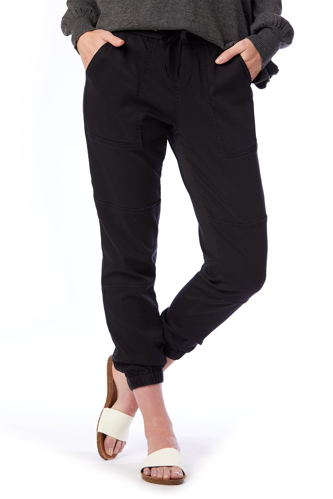 demerey sateen jogger pant (reg and plus size)