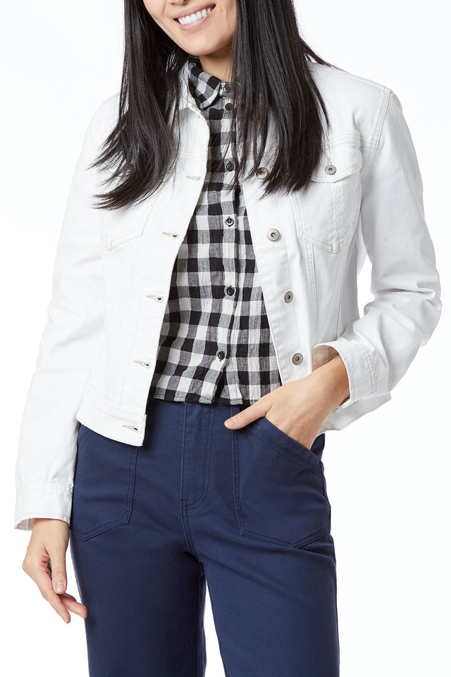 Brendan White Denim Jacket