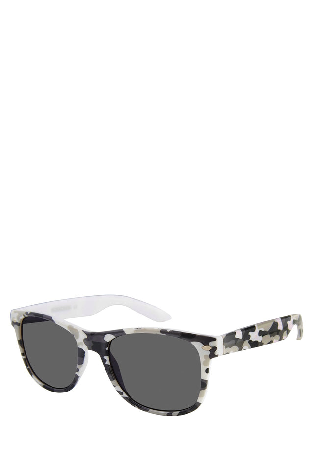 White Camo Wayfarer Sunglasses