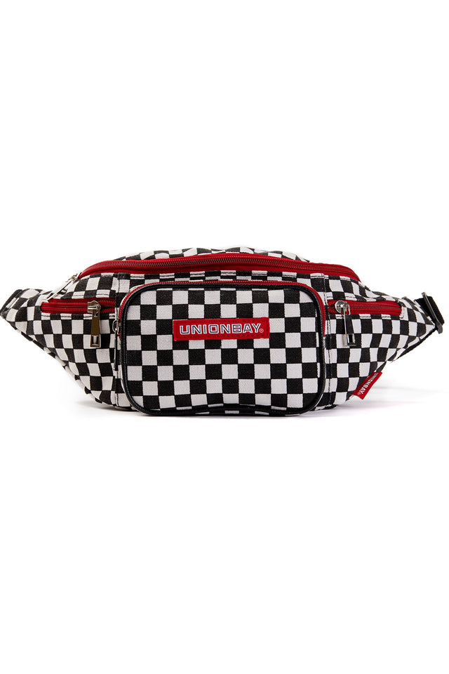 Checkered Fanny Pack