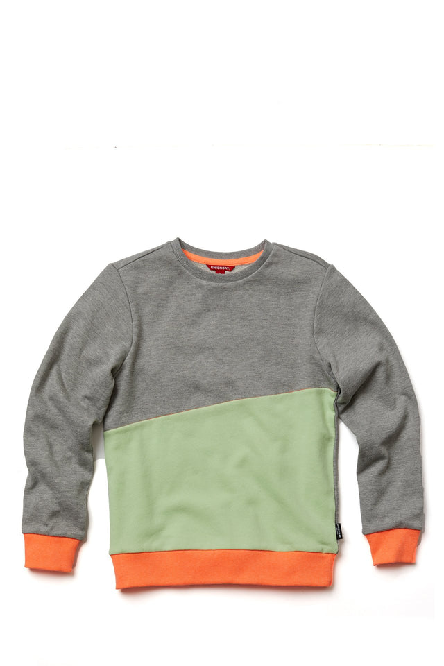 Sunset Colorblock Sweatshirt for Boys
