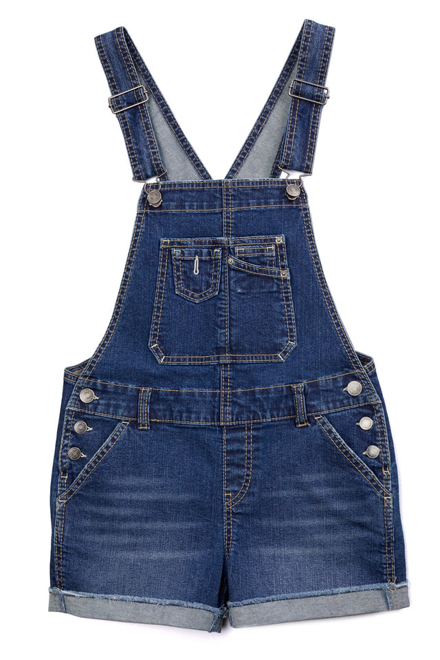 Jenny Denim Shortalls for Girls