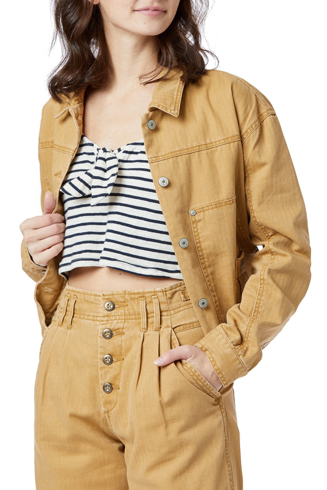 Nattie Crop Utility Jacket