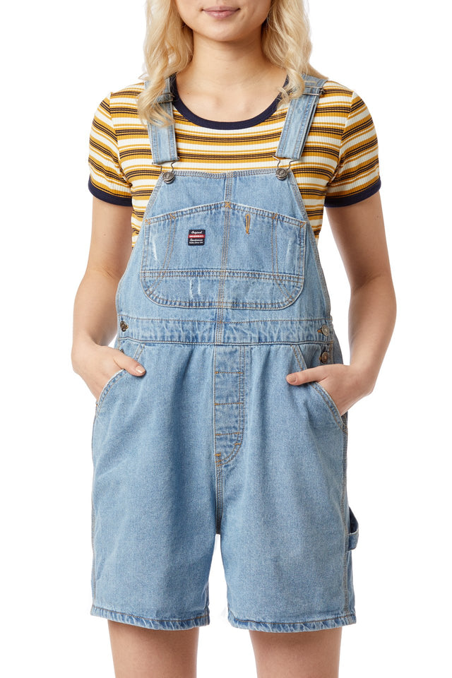 Mario Denim Shortalls