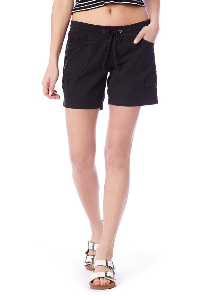 Christy Convertible Knit-Waist Short (Reg and Plus)