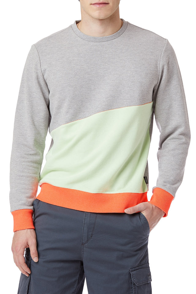 Sunset Colorblock Sweatshirt