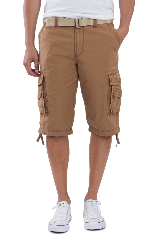 Cordova Cargo Messenger Shorts, Field