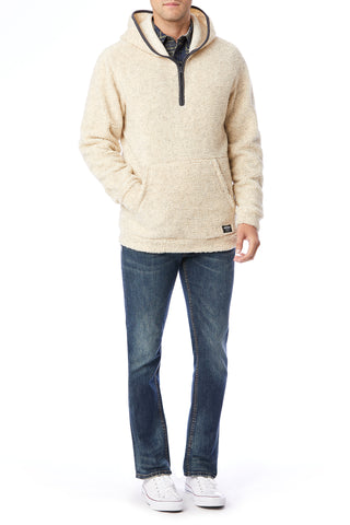 Turner Zip Fleece Hoodies for Men - Front