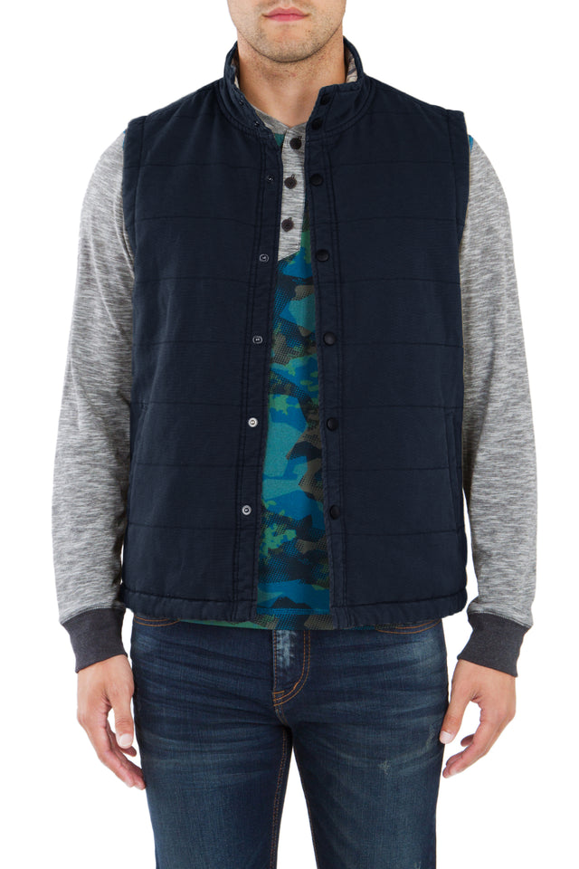 Cameron Canvas Quilted Vest