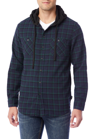 Switchback Flannel Hoodies for Men