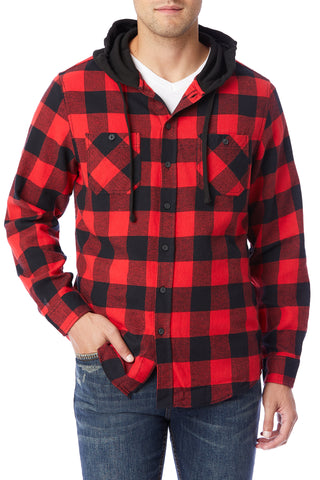 Switchback Flannel Hoodie