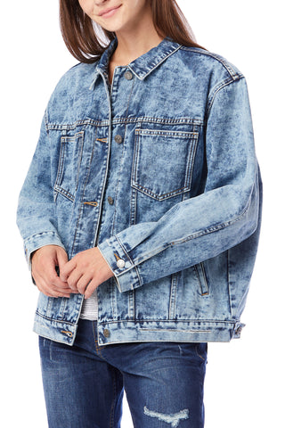 Warren Acid Wash Denim Jacket