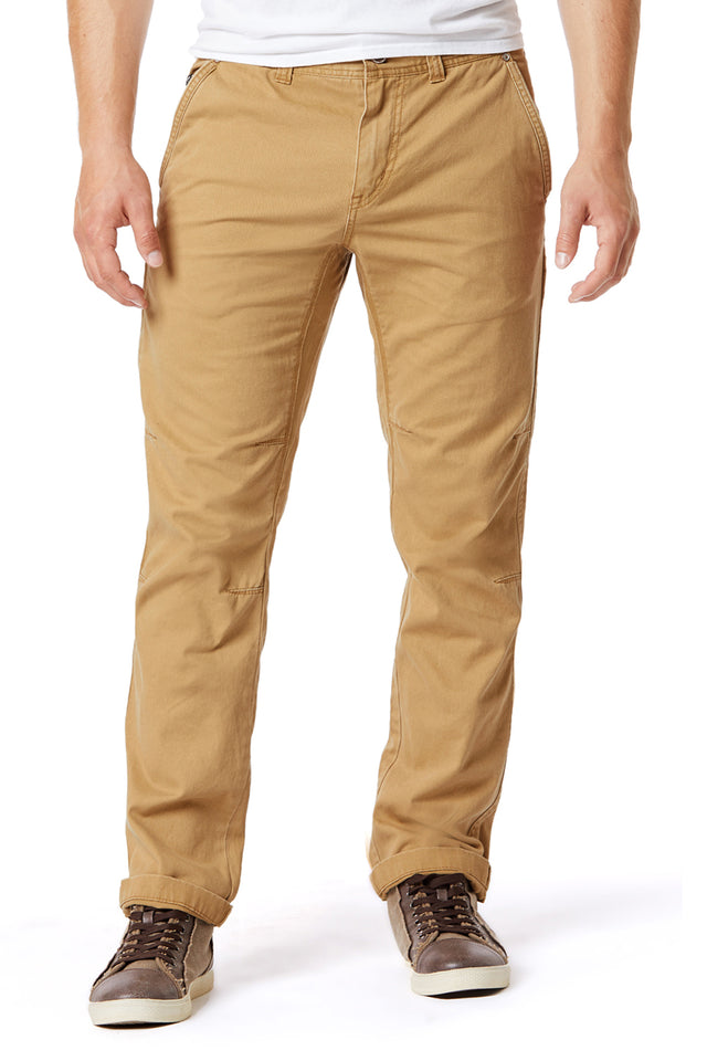 Rye Slim Twill Utility Pants for Men - Front View