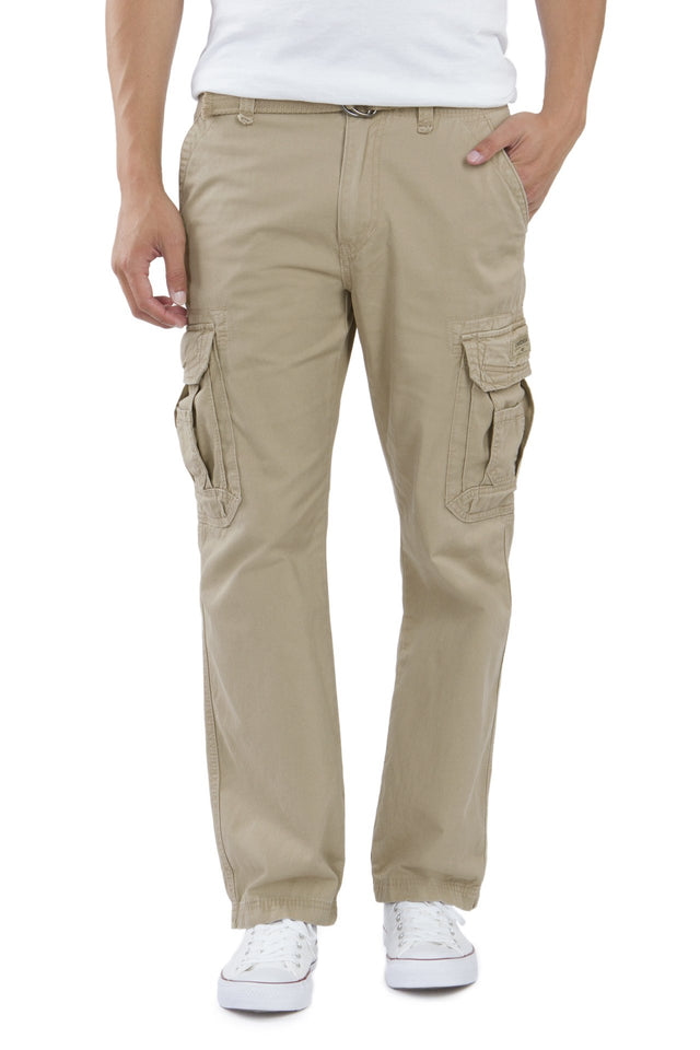 Survivor Cargo Pants for Men, Desert