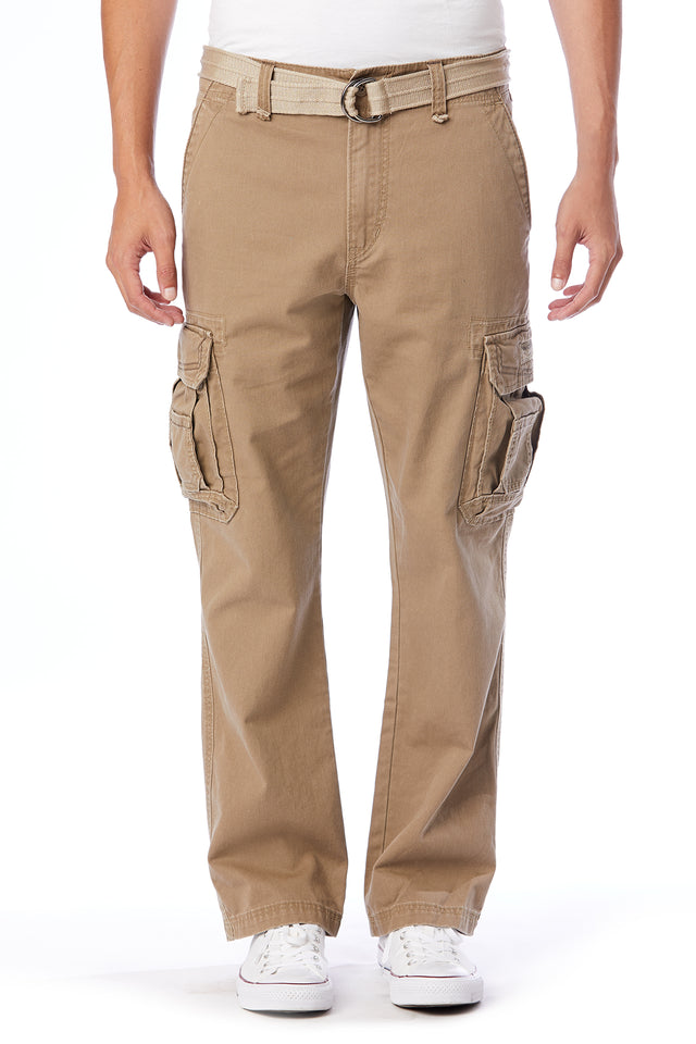 Survivor Cargo Pants for Men, Dugout