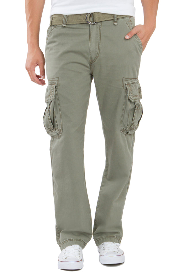 Survivor Cargo Pants for Men, Leaf