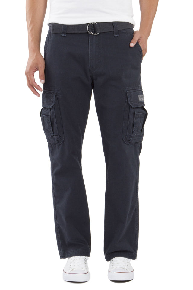 Survivor Cargo Pants for Men, Navy
