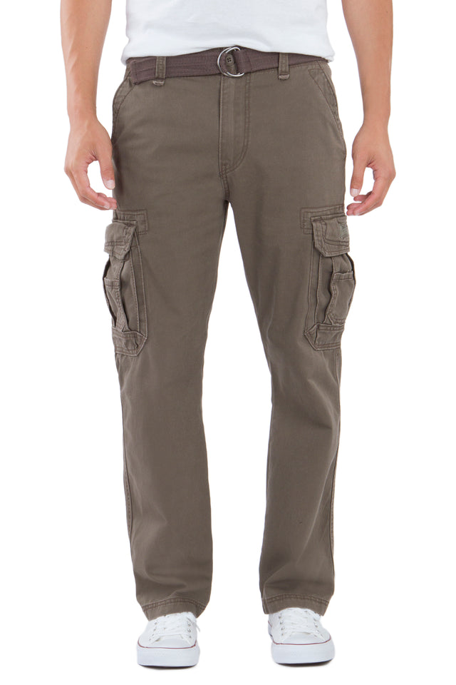 Survivor Cargo Pants for Men, Brown