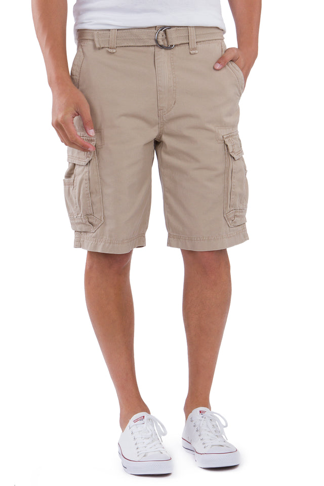 Survivor Cargo Shorts for Men, Desert