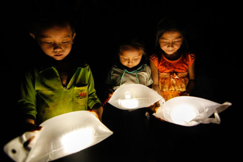 Give Light LuminAid Solar Outdoor Lights
