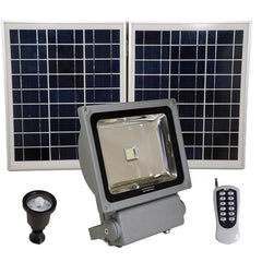 Extremely Bright Solar Flood Lights for Outdoor Landscape