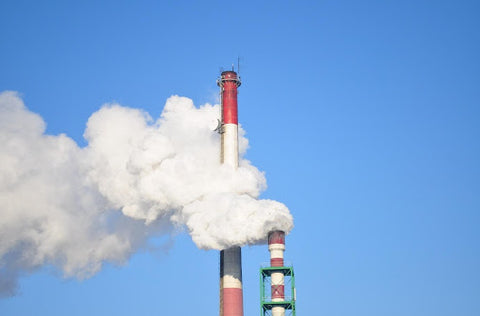 Carbon Dioxide Emissions from a Fossil Fuel Power Plant