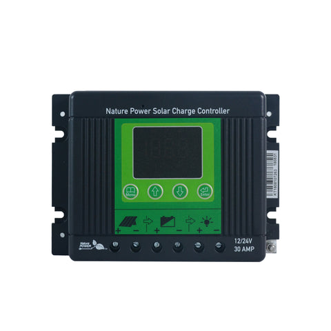 Nature Power Solar Power Kit 53440 Charge Controller