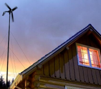 Primus wind Power Air 30 Wind Turbine Generator 30 KWh 400W / 12V 24 V 48 V Powering an Off Grid Home